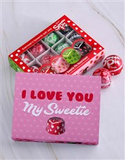Spoil your special sweetie with this tray of 16 de