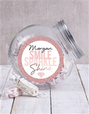 Make sure he or she sparkles with this candy jar w