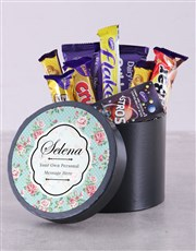 Make that chocolate-lover's day with this hat box