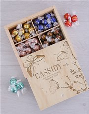 Personalised Butterfly Lindt Crate