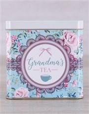 Personalised Tea Tin for Grandma