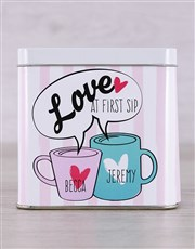 Spoil the one you love with this amazing tea tin w