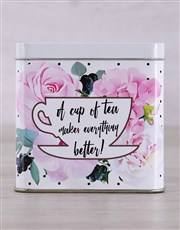 Make everything better with this amazing tea tin w
