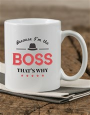 Show your boss what a big deal he is with a mug wh