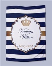 Personalised Prince Bed Set