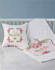 Personalised Princess Bed Set