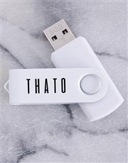 Ensure that his or her USB stick never gets mispla