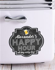 Personalised Happy Hour Desk Fridge