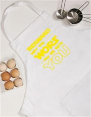 Personalised Star Wors Apron