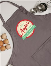 Personalised Love Served Apron