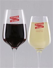 Celebrate the good times with a red or white wine