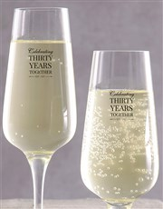 Celebrate that special anniversary with 2 champagn
