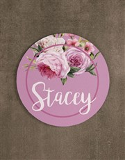 Personalised Roses Mouse Pad