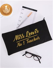 Everybody needs a personalised pencil case, especi