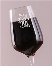 Make sure he or she is full of joy while sipping w