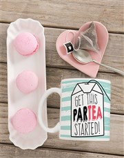 Get the 'partea' started with a mug which features