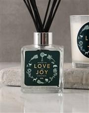 Personalised Love Joy Candle