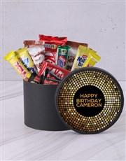 Personalised Golden Birthday Hat Box
