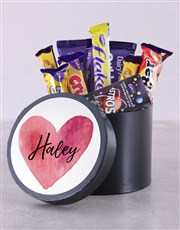 Personalised Heart Hat Box