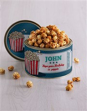Personalised Popcorn Tin