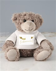 Make any anniversary special with a cuddly teddy b