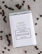 Make that coffee lover's day with this silver coff