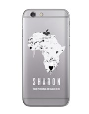 Personalised Africa iPhone Cover