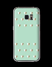 Personalised Hearts Samsung Cover