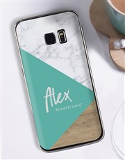 Personalised Woodgrain Samsung Cover