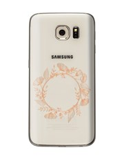 Personalised Flower Crown Samsung Cover