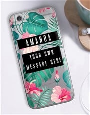 Personalised Tropicana iPhone Cover