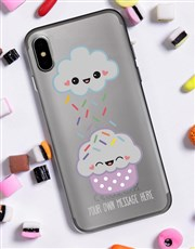 Personalised Cupcake iPhone Cover