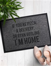 Personalised Im Home Doormat
