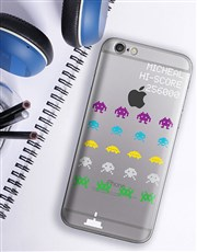 Personalised Space Invaders iPhone Cover