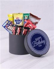 Personalised Happy Birthday Hat Box