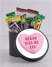 Personalised Kiss Me Hat Box
