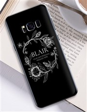 Personalised Protea Samsung Cover