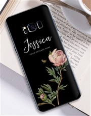 Personalised Rose Samsung Cover