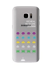 Personalised Space Invaders Samsung Cover