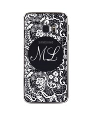 Personalised Lace Samsung Cover