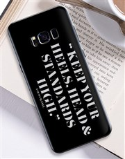 Personalised High Standards Samsung Cover