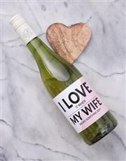Personalised Wife Wine