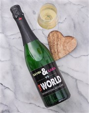 Personalised VS The World Wine