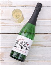 Send this personalised wine label to your favourit