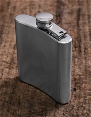 Personalised Dapper AF Hip Flask