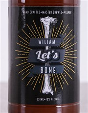 Personalised Lets Bone Craft Beer