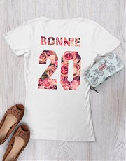 Be each other's Bonnie and Clyde with this white T