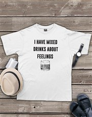 Personalised Mixed Drinks Shirt