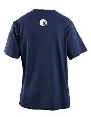 Get cryptic with this navy T-shirt which features