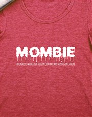 Personalised Mombie Shirt
